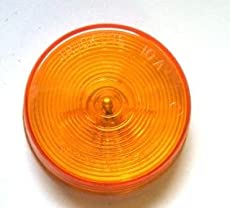 Truck-Lite 10202Y Yellow, Model 10, 2-1/2'' Marker & Clearance Lamp