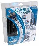 Evriholder Cable Zipper 8  Black Large Tube