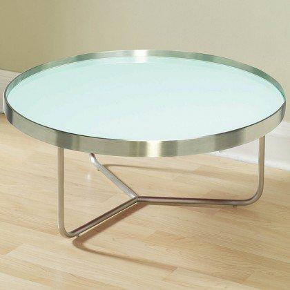 Barlow Small Coffee Table, Light Aqua
