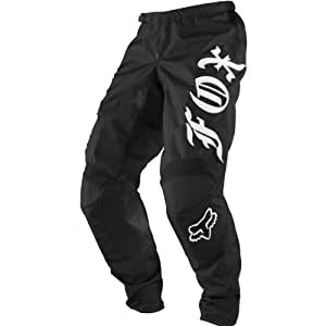 Fox Racing 180 Chapter Men's MotoX/Off-Road/Dirt Bike Motorcycle Pants - Black / Size 38