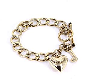 Juicy Couture Gold Starter Charm Bracelet