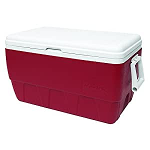 Igloo Family Cooler (52-Quart, Red)