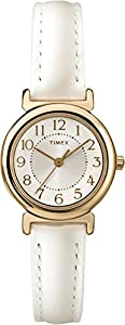 Timex Women's T2P4319J Main Street Modern Minis Analog Display Analog Quartz White Watch