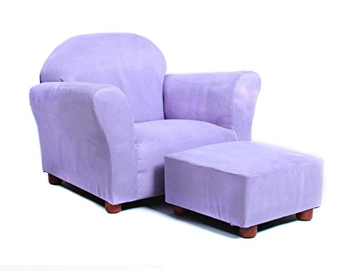 keet-roundy-child-size-chair-with-microsuede-ottoman-lavender-ages-2-5-years