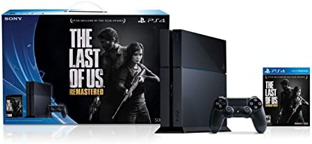 PlayStation 4 Console with Free The Last of Us Remastered Voucher