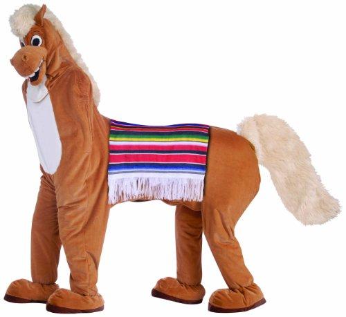 Forum Novelties Men's Two Man Horse Adult Costume, Brown, Standard