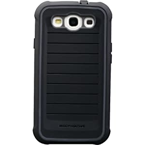 Body Glove 9343801 ShockSuit Case for Samsung Galaxy S III - Retail Packaging - Black/Black