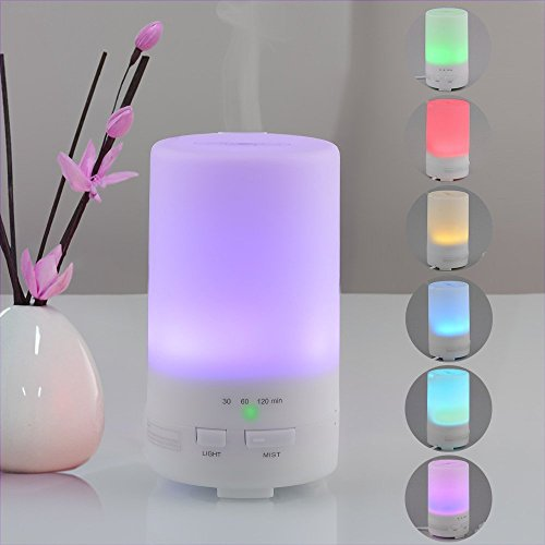Accentory USB 5V 50ML Car Air Humidifier and Aromatherapy Essential Oil Diffuser (50ml, white) (Mini Fan 220v compare prices)