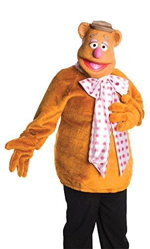 Fozzie Bear Adult Costume Sm Halloween Costume (Fozzie Bear Adult Costume)