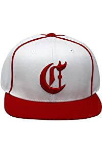 MLB American Needle Cincinnati Reds Timekeeper Adjustable Leather Strap Baseball Cap by American Needle