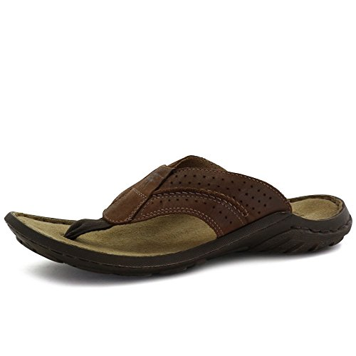 10. Josef Seibel Men's Logan 25 Toe Post Sandals