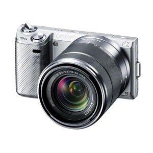 ソニー デジタル一眼カメラ「NEX-5N」ズームレンズキット(シルバー)SONY NEX-5N NEX-5NK-S