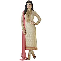 radhika Embroidered brasso Dress Material rs_pd3128_cream