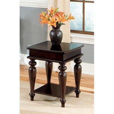 Cheap Standard Furniture Java 24″ End Table in Walnut 24305 (B004SKJ4GE)