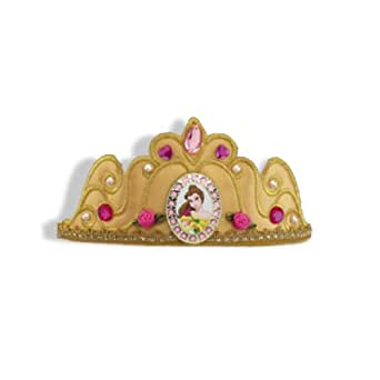 Disguise Inc Unisex Adult Disney Belle Deluxe Tiara