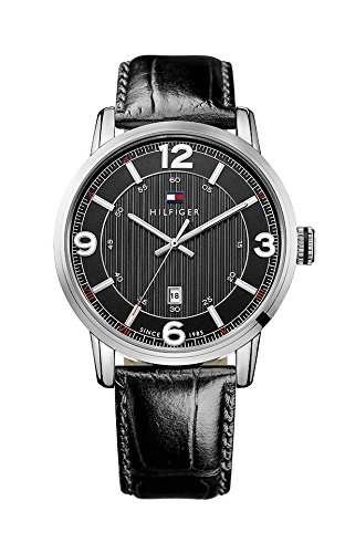 tommy-hilfiger-george-mens-quartz-watch-with-black-dial-analogue-display-and-black-leather-strap-171