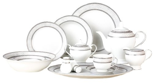 Lorenzo Sirena 57-Piece Dinnerware Set, Service For 8