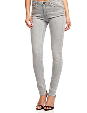 Excellent Pomme Rouge Gray Button Skinny Pants  Women Amp Plus  Zulily