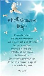 A First Communion prayer