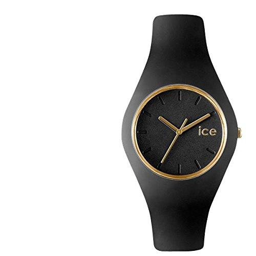(アイスウォッチ)IceWatch ユニセックス ボーイズ ICE GL BK U S 13 ICE GLAM Black Unisex アイスグラム 腕時計 シリコンラバーベルト カラー/ブラック サイズ/ [並行輸入品]