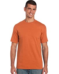Gildan Heavy Cotton T-Shirt, Antique Orange, Medium