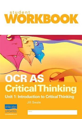 Critical thinking revision unit 1
