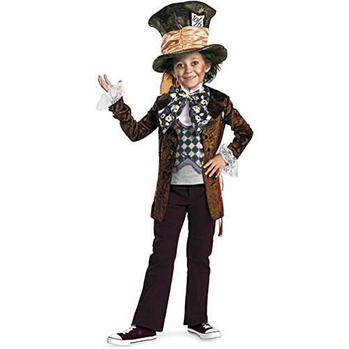Disney Mad Hatter Deluxe Kids Costume
