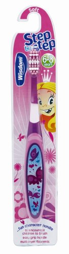 Wisdom Childrens Step By Step Toothbrush: 6-8 yrs old 38935