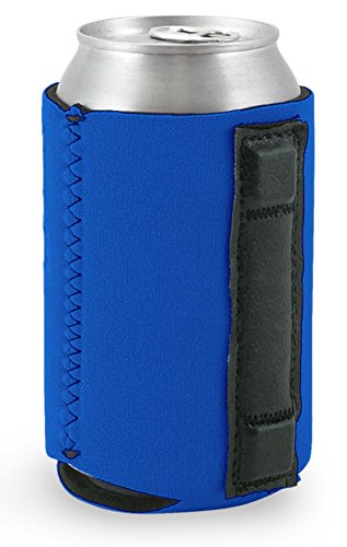 Magnetic Neoprene Collapsible Can Coolie (Royal Blue) (Magnetic Can Koozie compare prices)