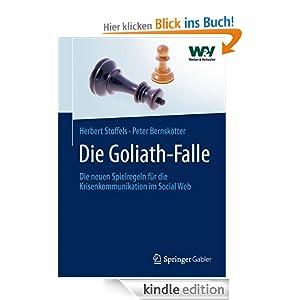 Die Goliath-Falle: Die neuen Spielregeln für die Krisenkommunikation im  Social Web