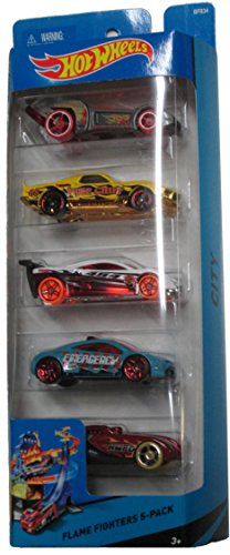 Hot Wheels City Flame Fighters 5 Pack