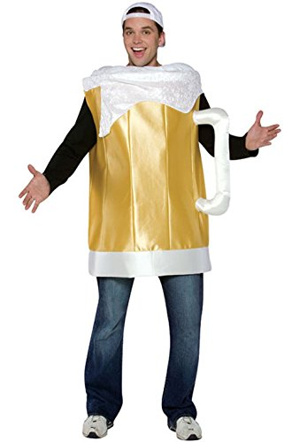 Mememall Fashion Cheers Beer Mug Drinks Funny Adult Costume (Cheers And Beers Costume)