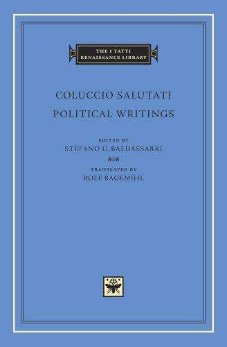 Political Writings (I Tatti Studies in Italian Renaissance History)
