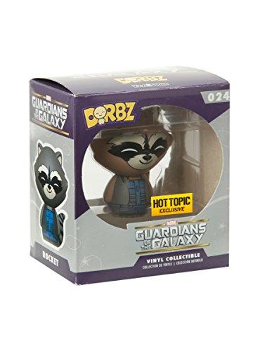 Funko Marvel Guardians Of The Galaxy Dorbz Rocket Raccoon (Blue & Grey) Vinyl Figure Hot Topic Exclusive