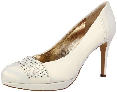 Högl shoe fashion GmbH Womens 7-108096-03000 Plateau White Weià (perlweià 300) Size: 38.5