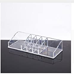 Acrylic Jewelry And Beauty Crystal Cosmetic Organizer Storage Box
