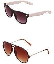 Benour BENCOM051 Combo Unisex Sunglasses