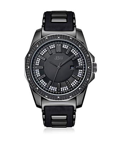 JBW Reloj con movimiento cuarzo japonés Man Regal Negro 48 mm