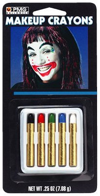 Paper Magic Group 'Makeup Crayons' Halloween Accessory, Multi-Color