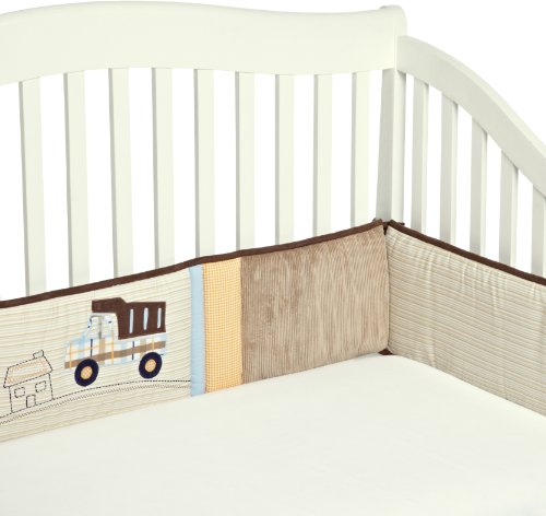 Carter's All Around Crib Bumper, Street Fleet (Discontinued by Manufacturer)