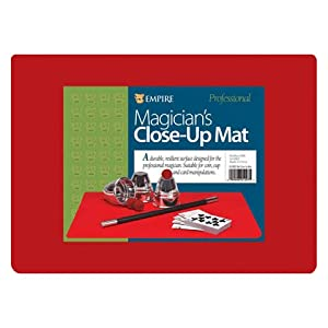 Close-up Pad - 12 X 17 - RED - Perfect for Your Magic Performances!