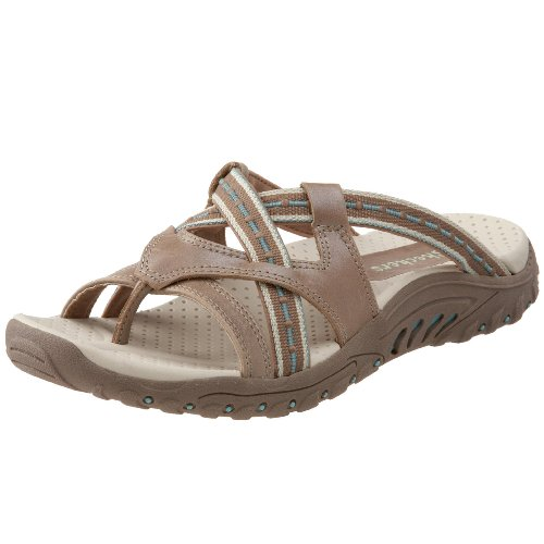 Skechers Womens Reggae Soundstage Thong Sandal
