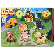Wood Sing-Along Puzzle - (Colors/Styles Vary) - 1