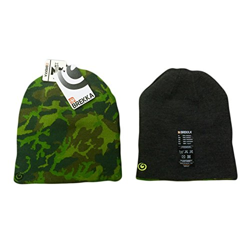 Smart Living Outdoor Brf15k840 Beanie Cappello B-Camo Mimetico Reversible Colore Grigio Mrg
