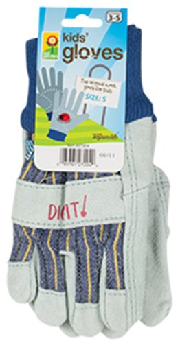 Toysmith Kids Garden Gloves, Small - 1