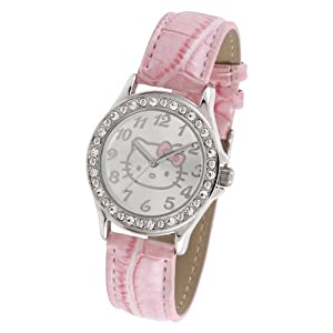 Hello Kitty Women's HK1746 Analogue Pink Strap Watch