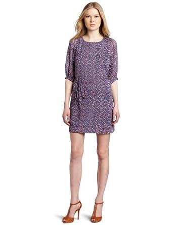 超值)French Connection 女神卡吕普索印花女裙Women's Calypso Flower Dress$49.25