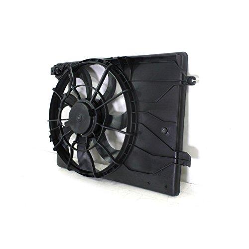 Radiator And Condenser Fan For Toyota Matrix Corolla TO3115157