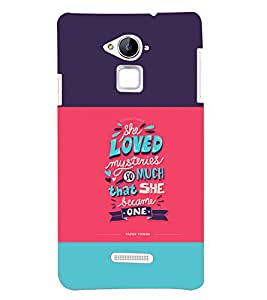 Fuson Mysterious Love Back Case Cover for Coolpad Note 3