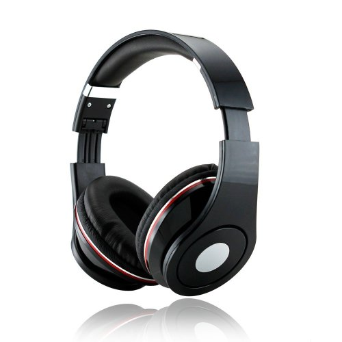 Adjustable Circumaural 3.5Mm Black Over Ear Hifi Stereo Stero Earphone Headphone For Dj Psp Pc Mp3 Mp4 Ipod Ipad Tablet